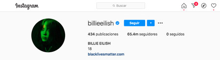 Billie Eilish Profil