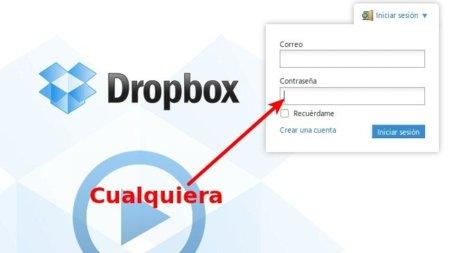 DropBox tuvo un importante fallo de seguridad este domingo durante cuatro horas
