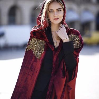 Chiara Ferragni luce un collar de Maria Pascual, la firma de joyas española de las bloggers del momento