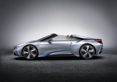 El nuevo BMW i8 Spyder debutará en el CES de Las Vegas, antes de llegar a la fabricación en serie