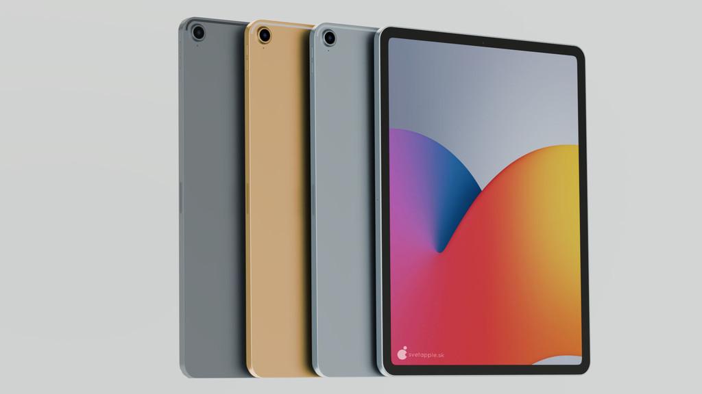 Aparece un nuevo render del futuro iPad Air de 4a generación