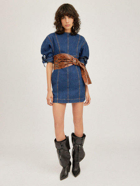 Attico Denim Dress