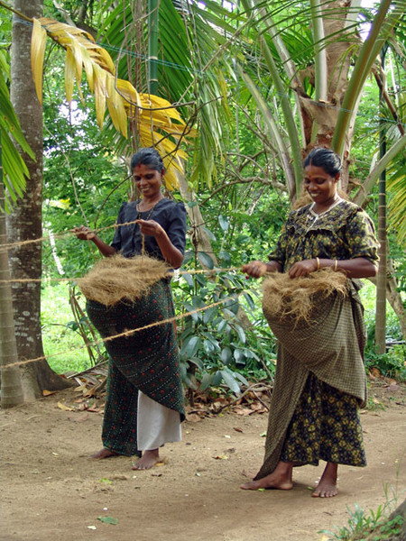 Production Of Coir In Kerala