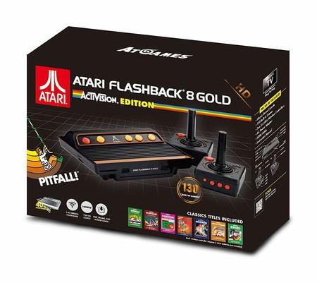Consola retro Atari Flashback 8 Gold, con 130 juegos clásicos, por 79,99 euros en Amazon