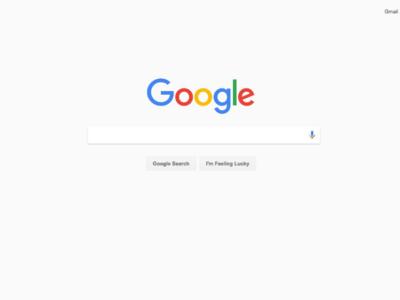 Google experimenta con llevar Material Design a las búsquedas de escritorio