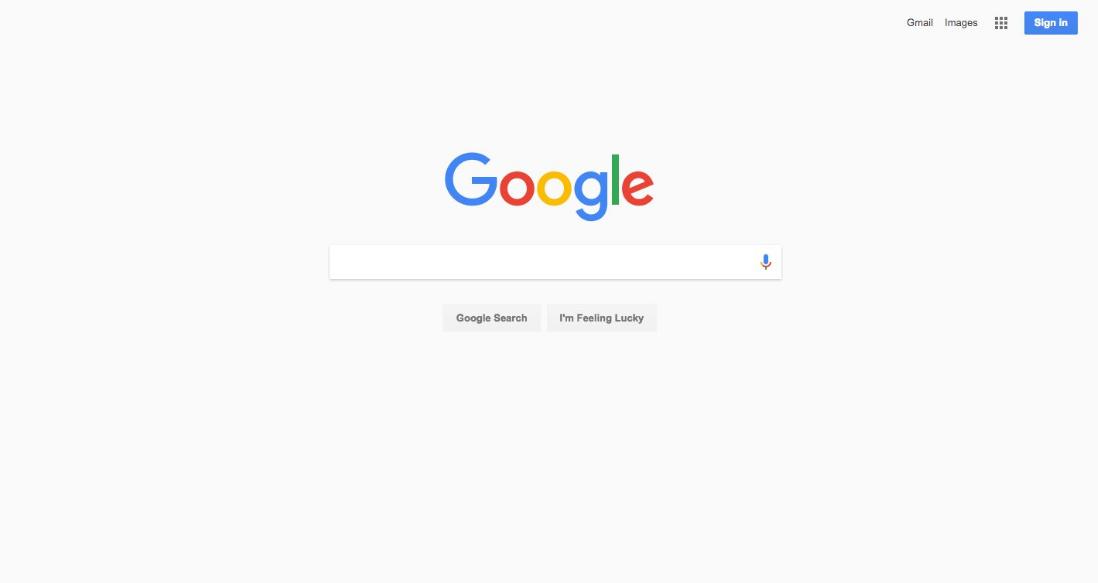 Google experimenta con llevar material design a las b squedas de escritorio - Google home page design ...