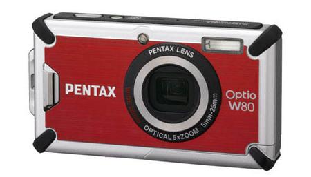 Nueva Pentax Optio W80: una compacta todoterreno