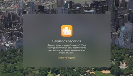 Apple lanza Apple Maps Connect para Pequeños Negocios en España