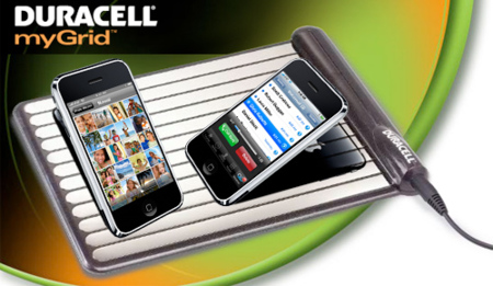 Duracell myGrid, cargador sin cables para iPhone e iPod touch