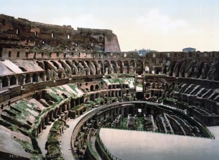 El Interior Del Coliseo