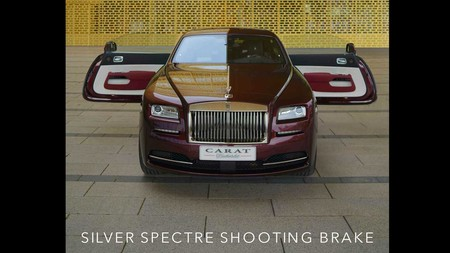 Carat Duchatelet Silver Spectre Wraith Shooting Brake 11