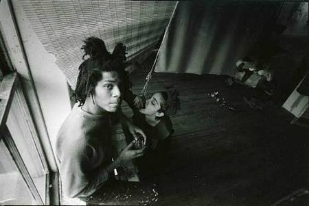 Madonna comiendo Basquiat
