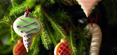 Tu felicitación de Navidad en una galleta personalizada Biscuiteers
