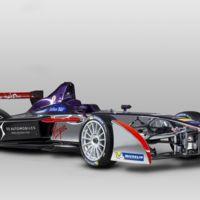 DSV-01, el monoplaza con que competirá DS Virgin Racing en Fórmula E, se muestra en Frankfurt