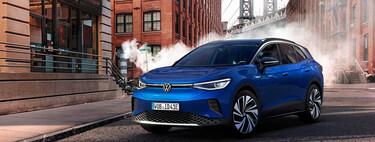 El Volkswagen ID.4 irrumpe en el mercado de los SUV eléctricos compactos. Y sin apenas rivales debería ser todo un éxito