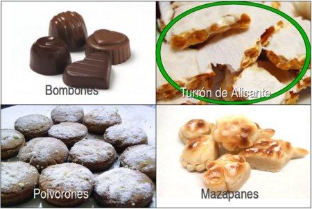 Solución a la adivinanza: el dulce navideño libre de colesterol es el turrón de Alicante