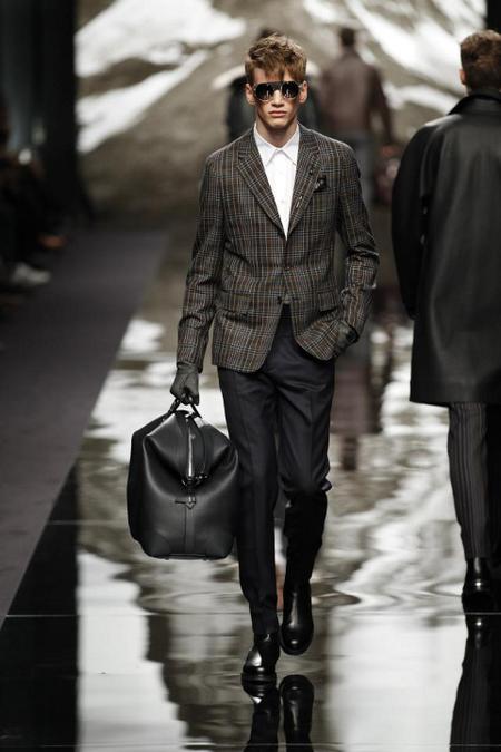Louis Vuitton Chaqueta cuadros AW 2014