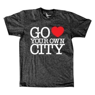 Camiseta Go Love Your Own City
