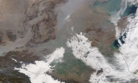 Incluso durante el confinamiento, la calidad del aire de China continuó siendo deficiente