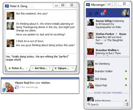 Facebook está probando su aplicación de Messenger para Windows