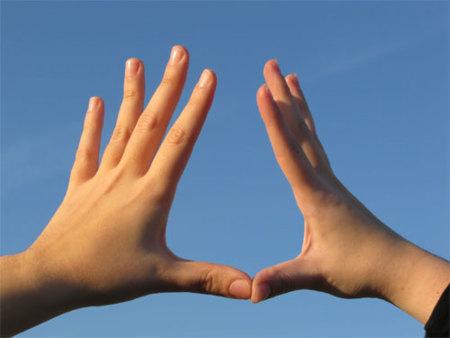Unas manos fuertes para mejorar los entrenamientos