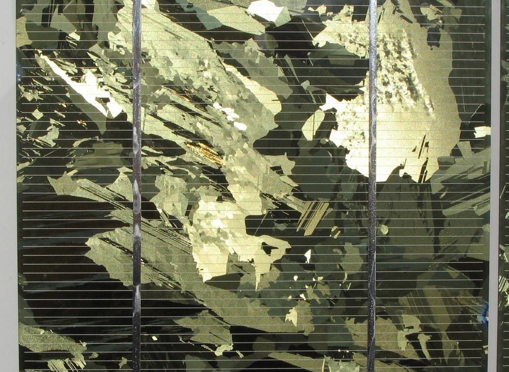 Celula Fotovoltaica Silicio Policristalino