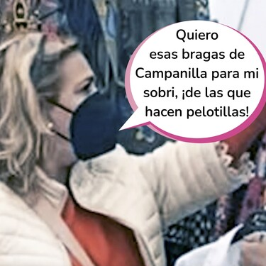 ¡Carmen Borrego en el rastro! Ay, Potota, que te hemos pillado con el carrito del mercao' en el mercadillo