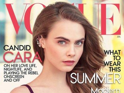 #WeLoveYouCara. Vogue US celebra su portada con Cara Delevingne con un vídeo molón