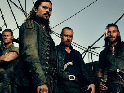 Starz cancela 'Black Sails', ¡larga vida al Capitán Flint!