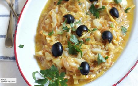 Bacalao dorado o bacalhau à Brás, la clásica receta portuguesa