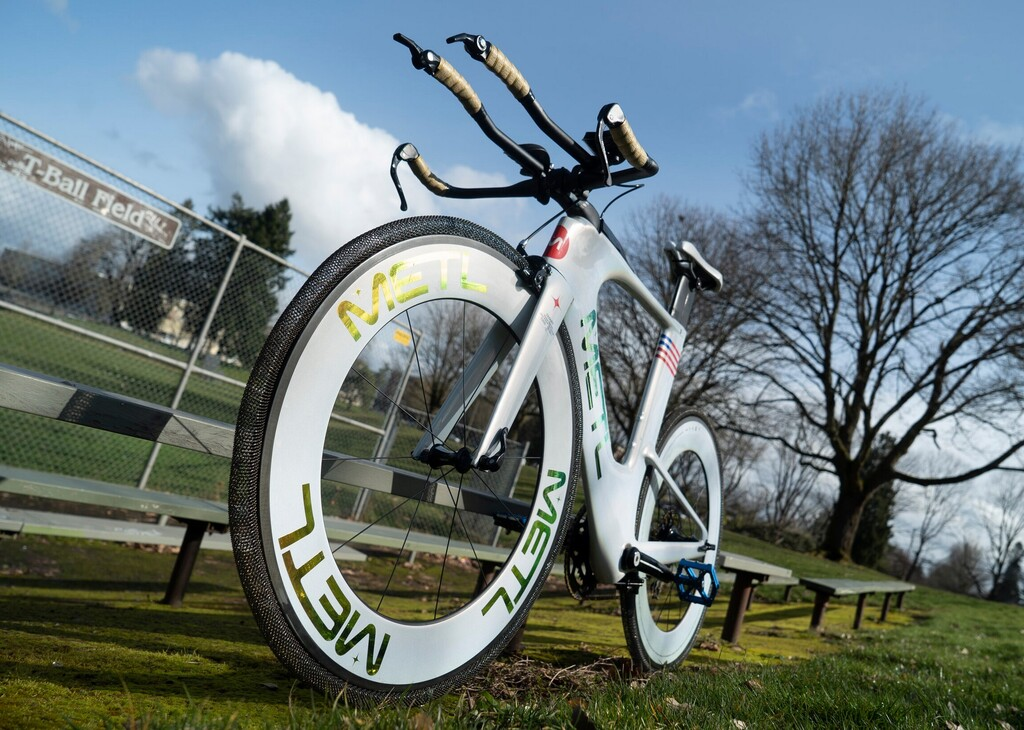 Así son las METL, las ruedas de bici con tecnología de la NASA: ni hay que inflarlas ni (teóricamente) se pinchan