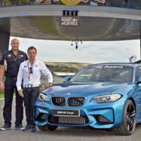 Alguien se va a llevar un BMW M2 Coupé por la cara, si es el más rápido de MotoGP