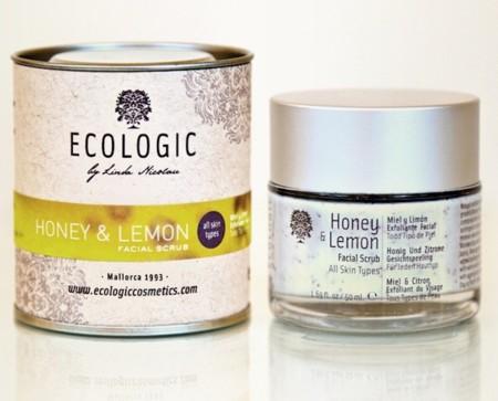 Exfoliante miel y limón Ecologic