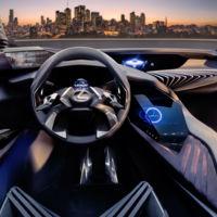 ¡Este es el interior más futurista que hemos visto en años! Lexus mostró la primera imagen del interior del UX Concept