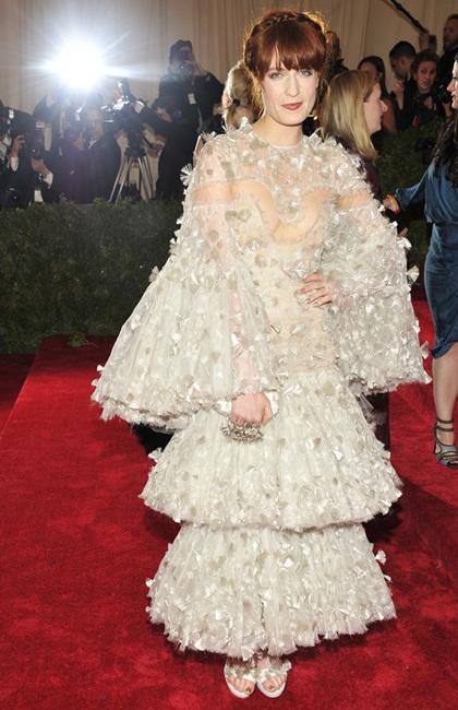 Florence Welch met 2012