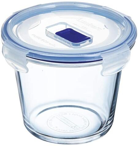Luminarc Pure Box Active Recipiente Hermetico De Vidrio Redondo Tamano 0 84 Litros