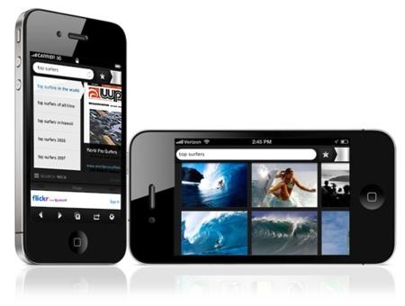 Yahoo! Axis, un nuevo navegador móvil