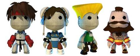 Se confirma el rumor: habrá sackboys de 'Street Fighter' en 'Little Big Planet'