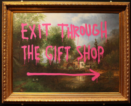 Exit throught the gift shop