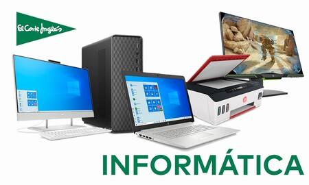 15 ofertas en el departamento de informática de El Corte Inglés: monitores, portátiles o impresoras a precios mucho más interesantes