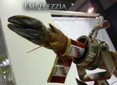 Embelezzia desde Alimentaria 2010: degustamos el jamón ibérico D.O. Guijuelo