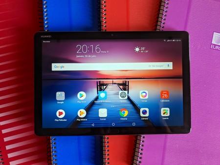 Huawei MediaPad M5 Lite 10, análisis: gran experiencia multimedia en una tablet con diseño de aluminio y cuatro altavoces