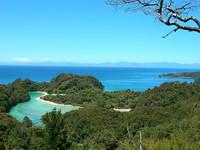 El Parque Nacional de Abel Tasman, Nueva Zelanda