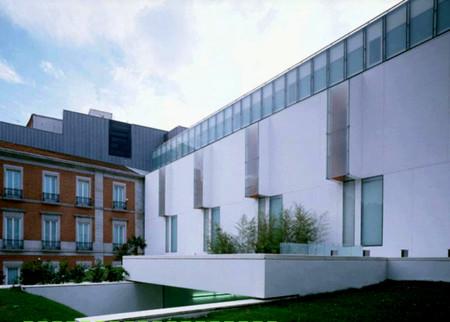Día Internacional de los Museos 2015: una escultura hecha por los visitantes en el Museo Thyssen de Madrid