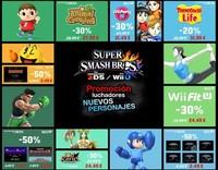 Los luchadores de Super Smash Bros. demandan protagonismo en esta promoción de eShop