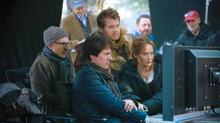 Rob Marshall en el rodaje de Into The Woods