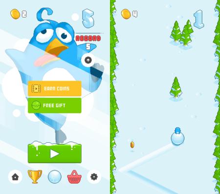 Snow Roll, un nuevo juego para iOS, va camino de superar a Flappy Bird en adicción