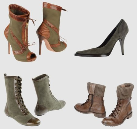 Zapatos marca militar
