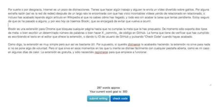 Blockr, bloquea la web para concentrarte en una tarea
