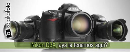 Nikon D3X, ¿ya la tenemos aquí?